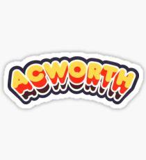 Acworth, GA | Retro Curve Sticker