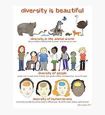diversity is beautiful Photographic Print