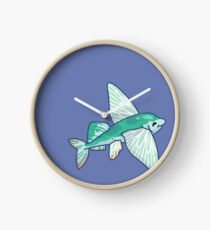 Sailfin Flying Fish Clock