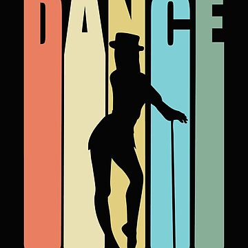 Tap Dancing Retro Design - Dance by kudostees