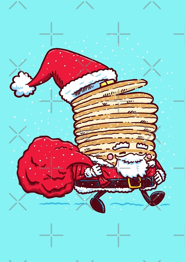 Santa Pancake by nickv47