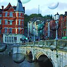 Magic Cork city, Ireland by Gladkaa
