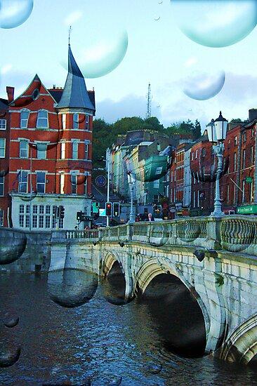 Magic Cork city, Ireland by Gladkaa