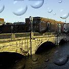 Irish city, Cork, Ireland by Gladkaa
