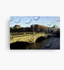 Irish city, Cork, Ireland Canvas Print