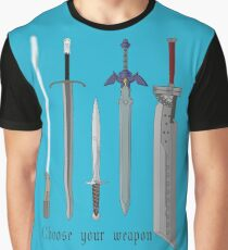 Choose your sword Graphic T-Shirt