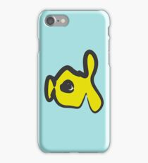babel fish oil painting style iPhone Case/Skin