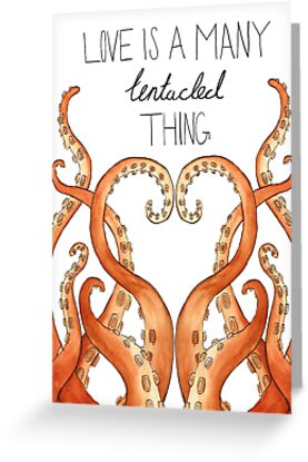 Love Is A Many Tentacled Thing by flailingmuse