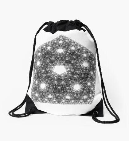 The Chaos Game  2,220,000 dots Drawstring Bag