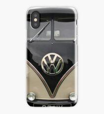 VW Splitscreen Black and Cream iPhone Case/Skin