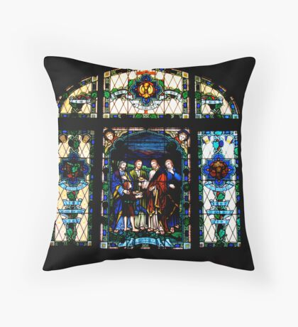 I am the Bread of Life Throw Pillow
