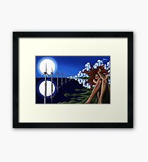 EnvironMental - Original Art from Shee - Surreal Worlds Framed Print