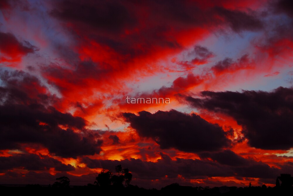 Perth sunset by tamanna