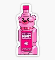 Cotton Candy Brandy Tshirt Sticker