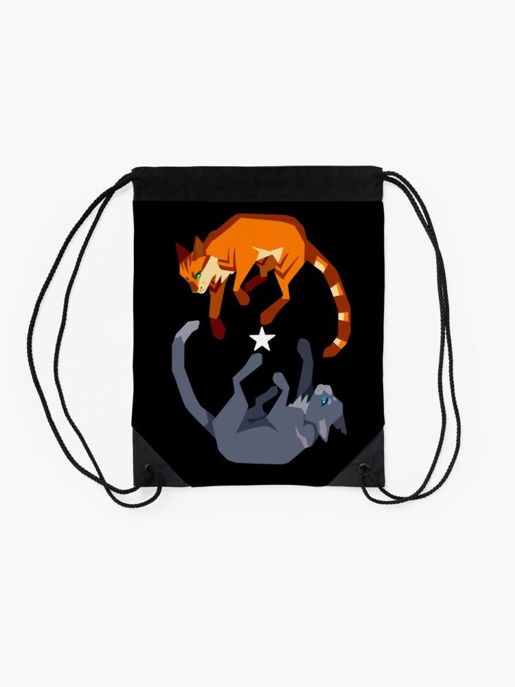 Alternate view of Fireheart/Bluestar Drawstring Bag