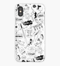 Merthur Pattern_Merlin iPhone Case