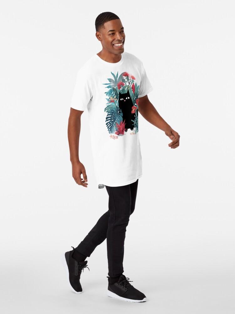 Vista alternativa de Camiseta larga Popoki
