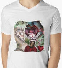 Dragon Lady - Victorian Gothic Men's V-Neck T-Shirt