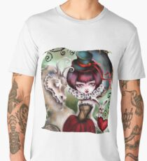 Dragon Lady - Victorian Gothic Men's Premium T-Shirt