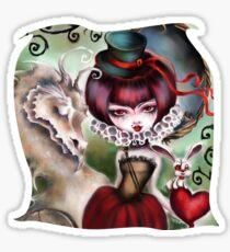 Dragon Lady - Victorian Gothic Sticker