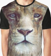 Löwe // Majestät Grafik T-Shirt
