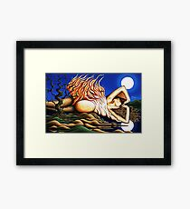 Journey Within - Original Art from Shee - Surreal Worlds Framed Print