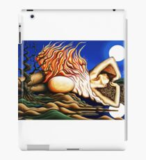 Journey Within - Original Art from Shee - Surreal Worlds iPad Case/Skin