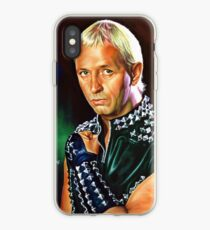 Rob Halford Priest, painting portrait iPhone Case