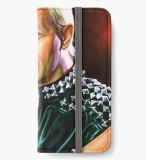 Rob Halford Priest, painting portrait iPhone Wallet/Case/Skin