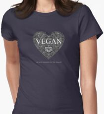 Vegan Kindness  Women's Fitted T-Shirt