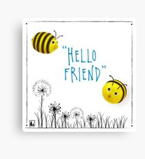 Hello Friend Canvas Print