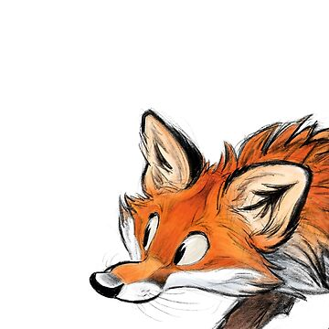 Red fox by HenriekeG