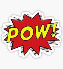 Pow! Pop Art! Sticker