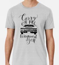Camiseta premium para hombre Sobrenatural - Sigue con mi hijo rebelde