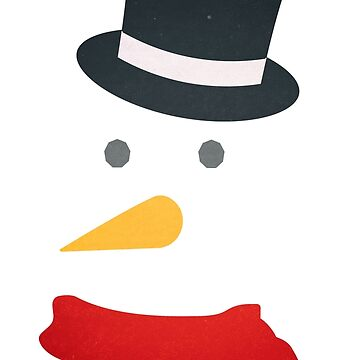 Simple Snowman by wfultzdesigns