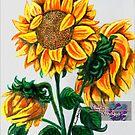 sunflowers by LoreLeft27