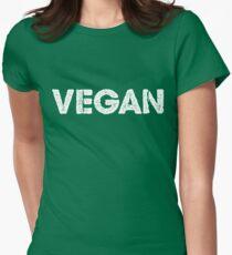 Vegan T-Shirt - great Gift for Vegetarian Men/Woman/Kids Women's Fitted T-Shirt