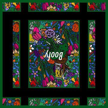 """Hanging Gardens"" (BOOFY X ASTROBOTANY) by boofyfashion"