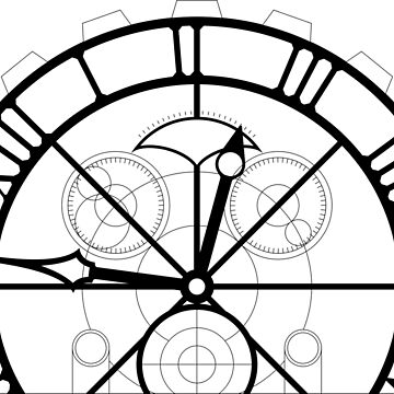 Wicked Clock Set Design - Black by laingdesign