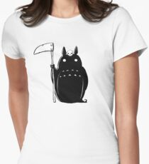 Mary Death - Totoro Death Women's Fitted T-Shirt