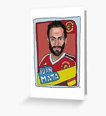 Juan Mata [Sticker Series] Greeting Card