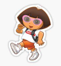 Clout Dora Sticker