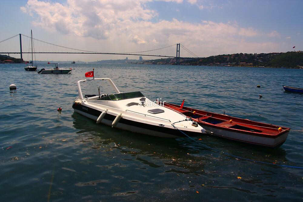 Bosphorus Bridge, Istanbul, Turkey  by nadir