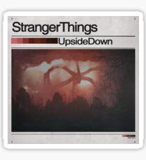 Stranger Things x The Weeknd Album Sticker