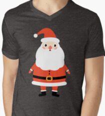 Cute kawaii Santa Claus for Christmas Men's V-Neck T-Shirt