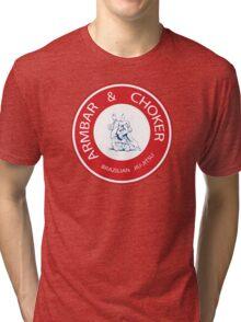 Armbar & Choker BJJ Tri-blend T-Shirt