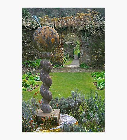 The Walled Garden, Hartland Abbey Photographic Print