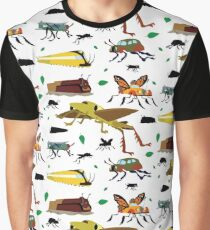Insect Cars Graphic T-Shirt