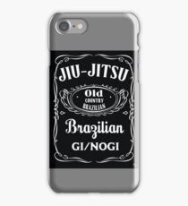 JIU-JITSU DANIELS iPhone Case/Skin