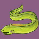 Moray Eel by bytesizetreas